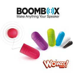 BoomBox v2 by Wowzr! Portable Vibration Speaker