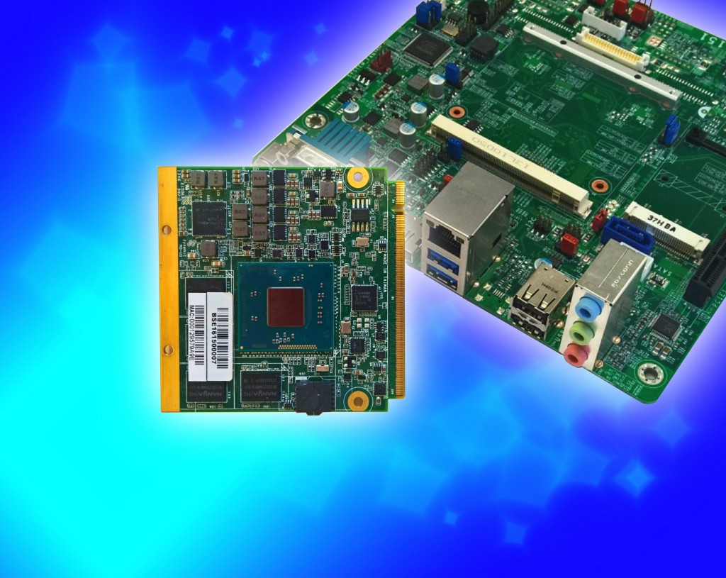Qseven COM enables flexibility in mechanical configuration with Baytrail CPU