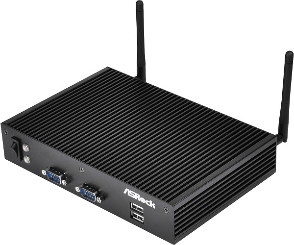 Fanless low power embedded box PC based on Intel Baytrail SoC