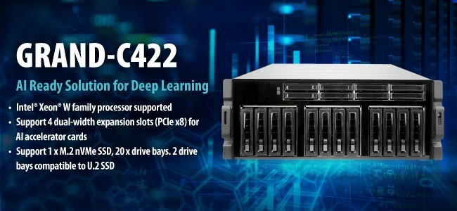 AI training server system - GRAND_C422-D20
