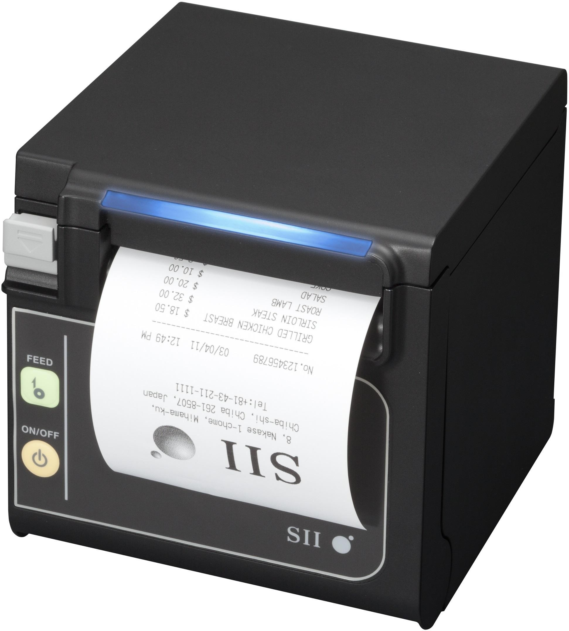 Panel mount thermal printer